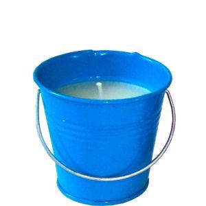 Caribbean Blue Citronella Candle Pail