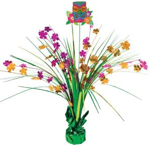 Tropical Tiki Spray Centerpiece