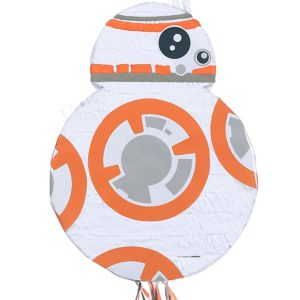 Pull String BB-8 Pinata - Star Wars 7 The Force Awakens