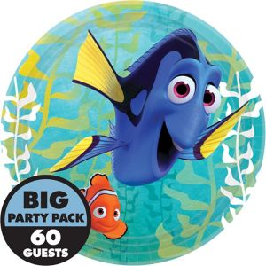 Finding Dory Lunch Plates 60ct