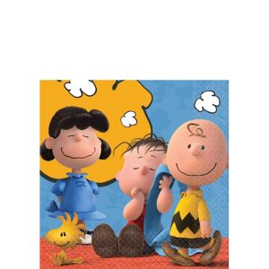 Peanuts Beverage Napkins 16ct