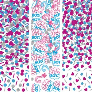 Girl or Boy Gender Reveal Confetti