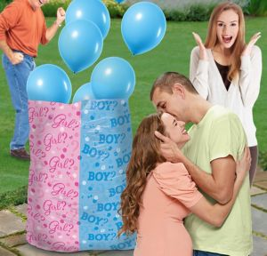 Boy Gender Reveal Balloon Release Kit