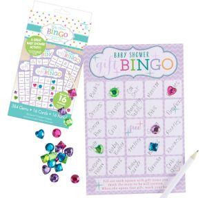 baby shower deluxe bingo