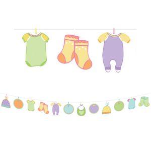 Baby Shower Banner Activity Kit