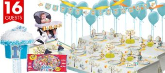 Boys Happi Woodland Party Supplies Ultimate Party Kit