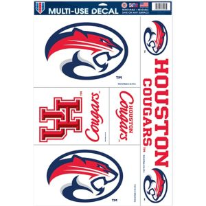 Houston Cougars Decals 5ct