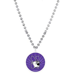 Northwestern Wildcats Pendant Bead Necklace