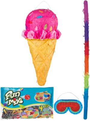Ice Cream Cone Pinata Kit