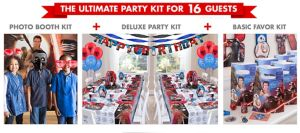 Star Wars 7 The Force Awakens Ultimate Party Kit for 16 Guests