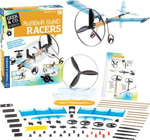 Rubber Band Racers Project Kit 71pc