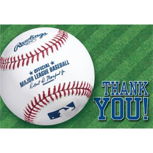 Rawlings Baseball Thank You Notes 8ct