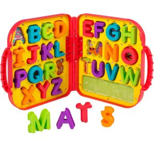 Elmo's On-the-Go Letters Carrying Case 27pc - Sesame Street
