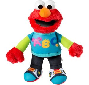 Talking ABC Elmo Plush - Sesame Street