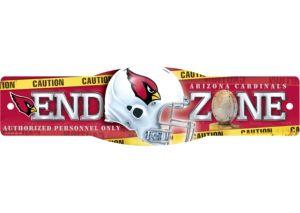 Arizona Cardinals End Zone Sign