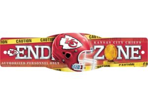 Kansas City Chiefs End Zone Sign