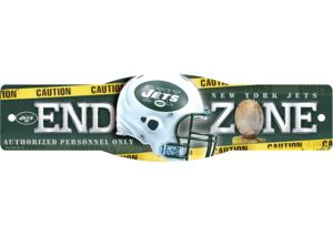 New York Jets End Zone Sign