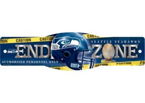 Seattle Seahawks End Zone Sign