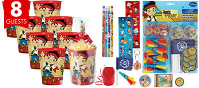 Jake and the Never Land Pirates Super Favor Kit for 8 Guests