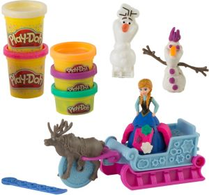 Play-Doh Frozen Sled Adventure Playset 10pc