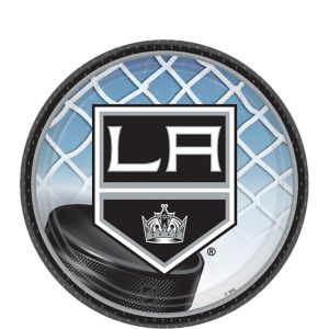 Los Angeles Kings Dessert Plates 8ct