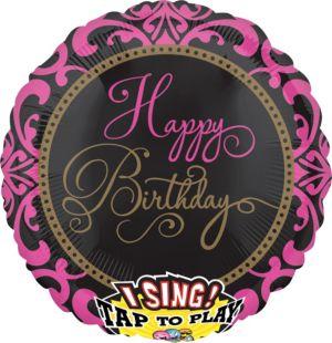 Singing Fabulous Celebration Happy Birthday Balloon