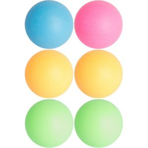 Black Light Neon Pong Balls 6ct