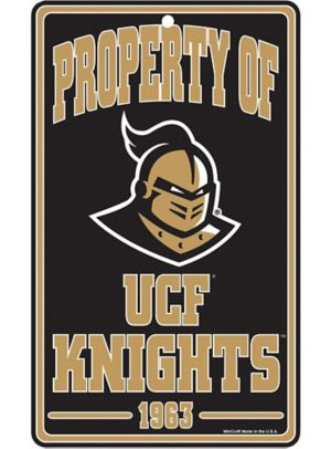Property of UCF Knights Sign