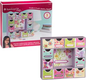 American Girl Jewelry Organizer Craft Kit 230pc