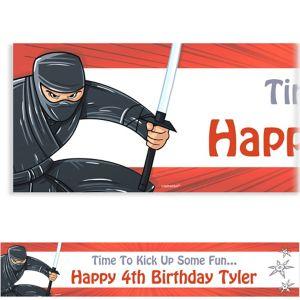 Custom Ninja Banner