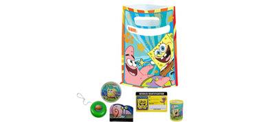 Sponge Bob Basic Favor Kit