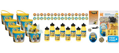 Despicable Me Ultimate Favor Kit for 8 Guests