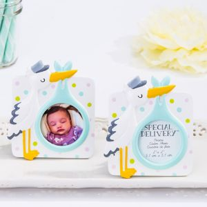 Stork Photo Frame Place Card Holder