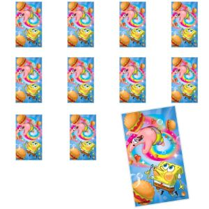 Jumbo SpongeBob Stickers 24ct