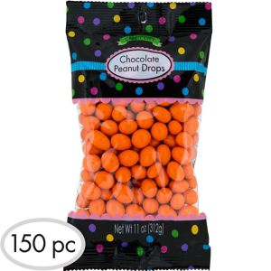 Orange Peanut Chocolate Drops 150pc