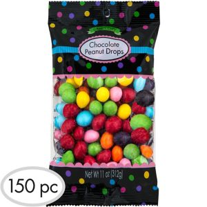 Rainbow Peanut Chocolate Drops 150pc