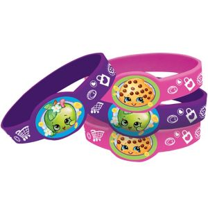 Shopkins Wristbands 4ct