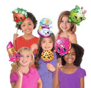 Shopkins Photo Booth Props 8ct