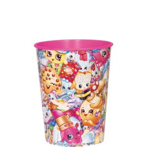 Pink Shopkins Favor Cup