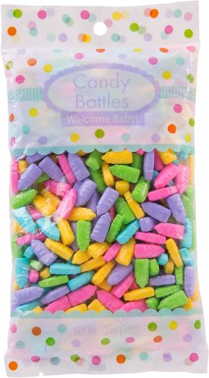 Bright Bottle Baby Shower Candy