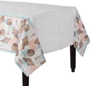 By the Sea Seashell Table Cover