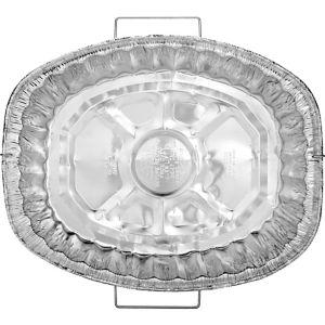 Heavy Duty Aluminum Roaster Pan with Handles