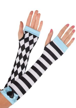 Black & White Alice Arm Warmers