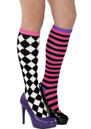 Mad Hatter Knee Socks