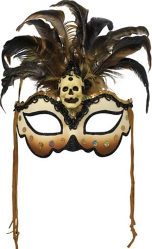 Witch Doctor Masquerade Mask