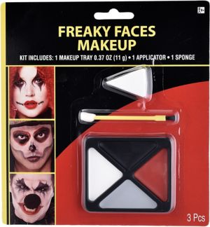 Freaky Face Makeup Kit 3pc