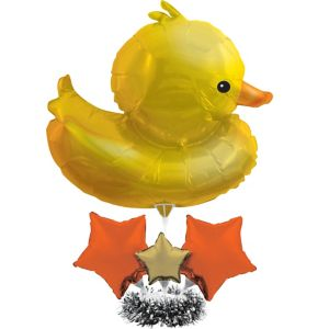 Giant Bubble Bath Duck Centerpiece Balloon