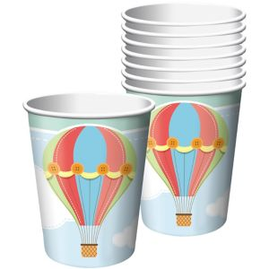 Up & Away Baby Shower Cups 8ct