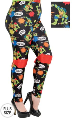 Teenage Mutant Ninja Turtles Leggings Plus Size