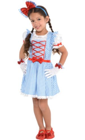 Girls Dorothy Dress - Wizard of Oz
